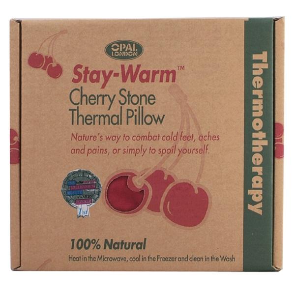 Opal London Stay Warm Cherry Stone Pillow